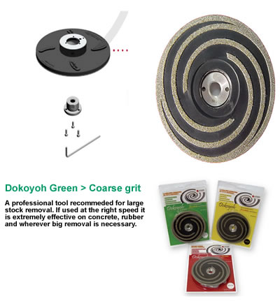 "DOKOYOH Coarse D.125 W 5/8"" nut GHINES"