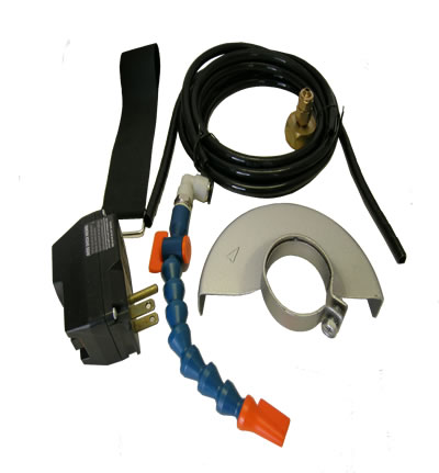 Alpha Wet cutting kit for Grinder