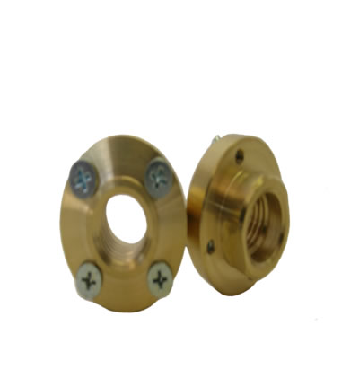 Brass Flush Mount Adapter