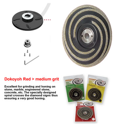 "DOKOYOH Medium D.125 W 5/8"" Red GHINES"